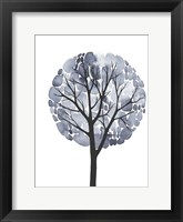 Midnight Elm II Framed Print