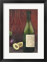 Wine Still Life II Framed Print