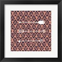 Deco Arrow II Framed Print