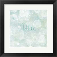 Framed Bubble Bath I