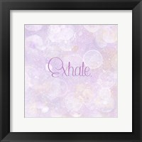 Bubble Bath III Framed Print