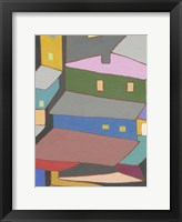 Framed Rooftops in Color IV