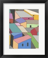 Framed Rooftops in Color VII
