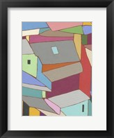 Framed Rooftops in Color XI