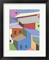 Framed Rooftops in Color XII