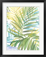 Tropical Pattern I Framed Print