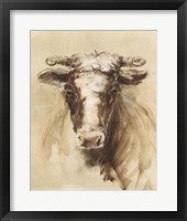 Western Ranch Animals II Framed Print