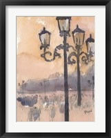Framed Venice Watercolors I