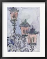 Framed Venice Watercolors II