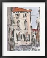 Framed Venice Watercolors III
