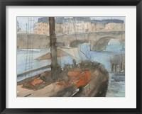 Framed Venice Watercolors IV