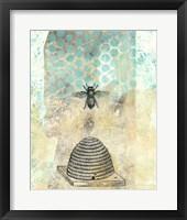 Vintage Beekeeper II Framed Print
