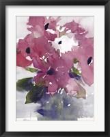 Framed Floral Between I