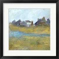Nantucket Wind I Framed Print