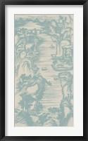 Chinese Bird's-eye View in Spa II Framed Print