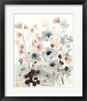Bespoken Blossoms II Framed Print