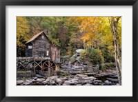 The Mill & Creek II Framed Print
