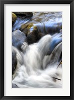 Water Abstract II Framed Print