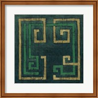 Framed Emerald Diversion II