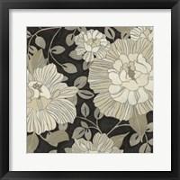 Garden Noir I Framed Print