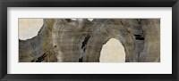 Cedar Round I Framed Print