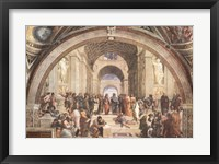 Framed School Of Athens
