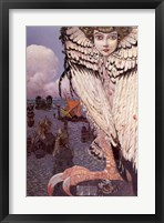Framed Satiated Siren