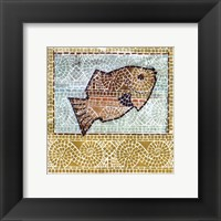 Framed Mosaic Fish II