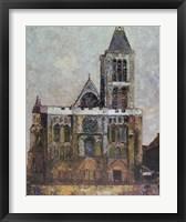 Framed Basilica, St. Denis