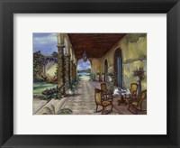 Framed Terrazzo Hiacia Del Mar