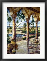 Framed Corinthian Beachfront