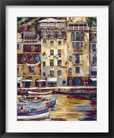 Framed Mattina Di Portofino