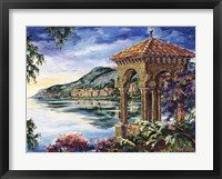 Framed Vista To Bellagio