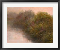 Framed River Vignette