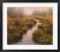 Framed Misted Brook, Arlington