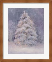 Framed Snow Winter Tree