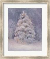 Framed Snow Winter Tree