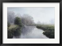 Framed Foggy River