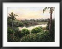 Framed Sanibel Island Sunset