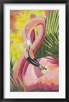 Framed Flamingo Mom