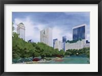 Framed New York City Skyline