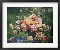Framed Bouquet on the Grass