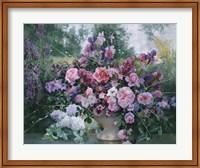 Framed Lilacs Still Life