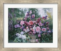 Framed Lilacs Still Life