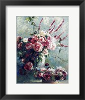 Framed Peonies of May