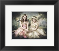 Framed Frog and Princesses