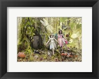 Framed Frolicking Fairies