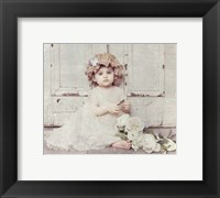 Framed Victorian Baby on Porch
