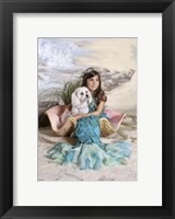 Framed Mermaid and Merdog