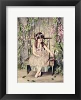 Framed Garden Fairy